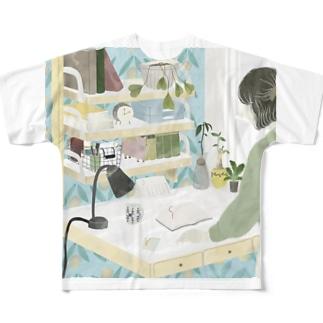 アイニードアグッドデスク Full graphic T-shirts