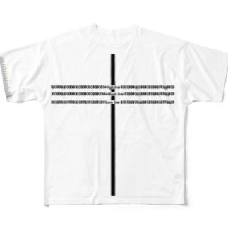 【Lサイズ用】トレニンーグガイドTシャツ Full graphic T-shirts
