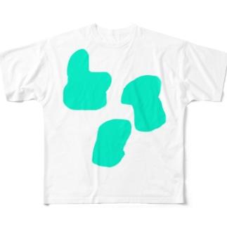 意味を成さない図形 Full graphic T-shirts