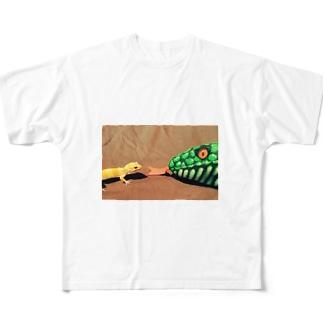 いおたん Full graphic T-shirts