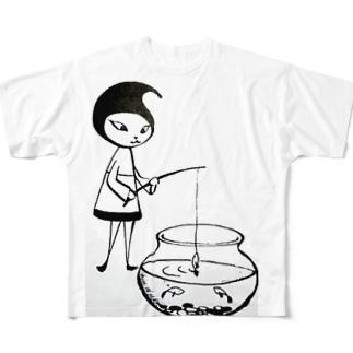 Pixlast(Ramil〈ラミル〉)釣りver. Full graphic T-shirts