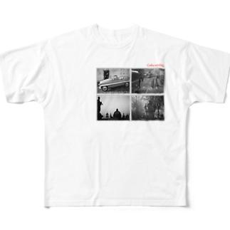 チェコのオールド写真 Full graphic T-shirts