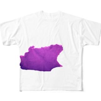 北極の氷! Full graphic T-shirts