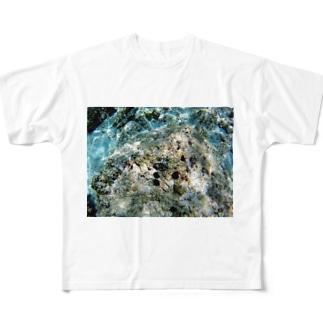 海のUNI(うに) Full graphic T-shirts