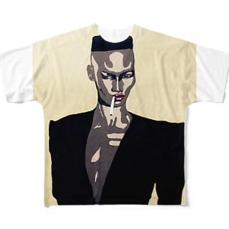 GRACE JONES Full graphic T-shirts