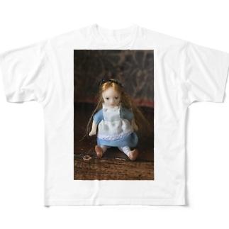 Tiny Alice Full graphic T-shirts