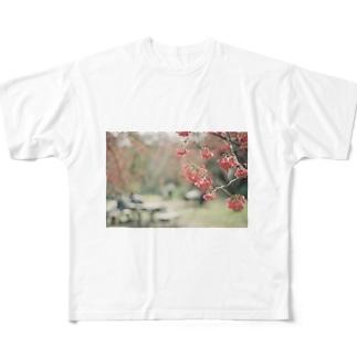 ダスティーなtシャツ Full graphic T-shirts