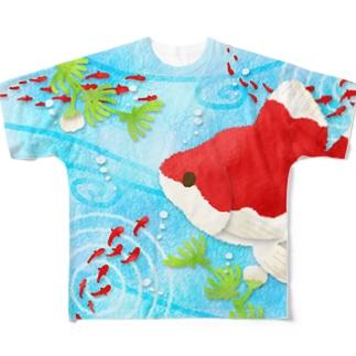 金魚01 Full graphic T-shirts
