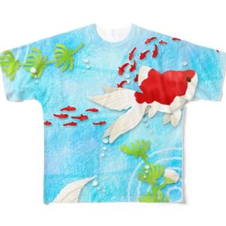 金魚03 Full graphic T-shirts