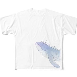 宇宙クジラnovaさん full ver. Full Graphic T-Shirt