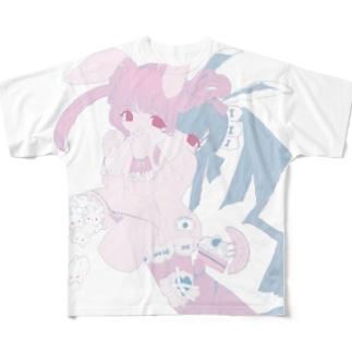 【記念品】月におみやげ・トゥワイス Full graphic T-shirts