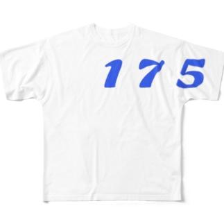 イージス艦 Tシャツ Full graphic T-shirts
