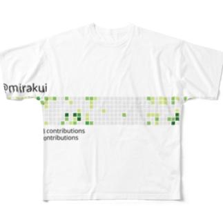 kusozako Full graphic T-shirts