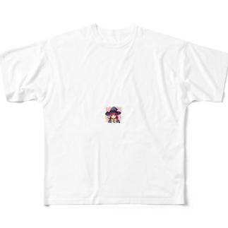 ペーパーマン Full graphic T-shirts