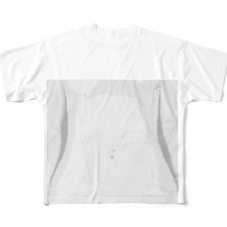 腹 Full graphic T-shirts