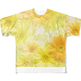 ヒマワリグッズ Full graphic T-shirts