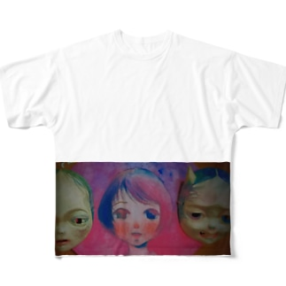 恋 Full graphic T-shirts