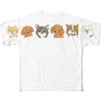 オンリーわん Full graphic T-shirts