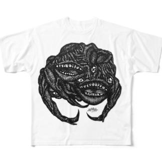 代々木の怪物 Full graphic T-shirts