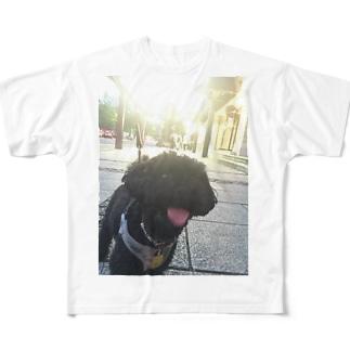 うちの犬 Full graphic T-shirts