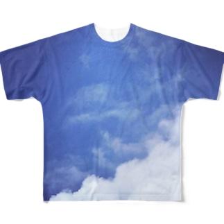 個性派ソラクモT Full graphic T-shirts