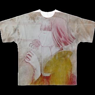 utatanekonoteの待ち遠しいのは Full graphic T-shirts