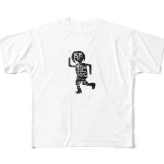 ミチョダッシュ Full graphic T-shirts