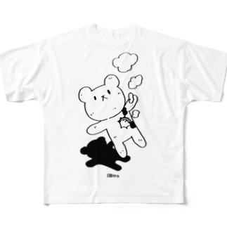 ハートブレイク Tシャツ Full graphic T-shirts