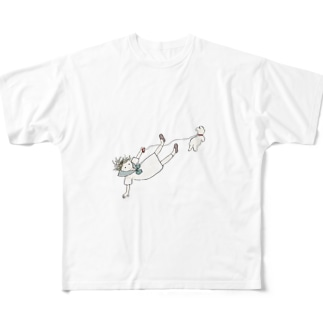 すってんころりん Full graphic T-shirts