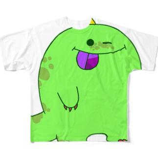 もんしゅたず00 Full graphic T-shirts