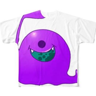 もんしゅたず02 Full graphic T-shirts