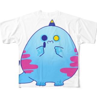 もんしゅたず03 Full graphic T-shirts