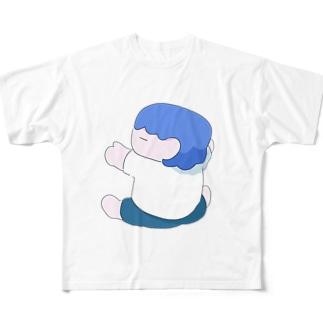 ひっつくぼく Full graphic T-shirts