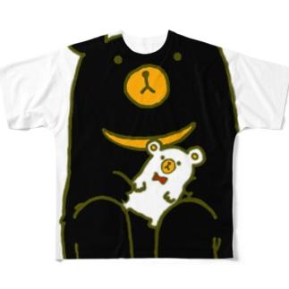 大事なものがあるクマ Full graphic T-shirts