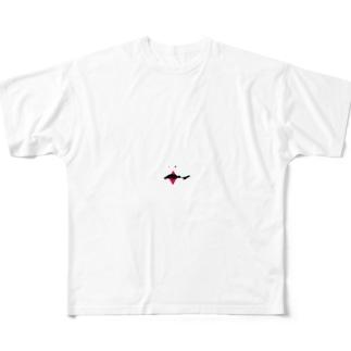マネモネ ダイヤ エース Full graphic T-shirts