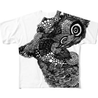 memento39の愛を望む Full graphic T-shirts
