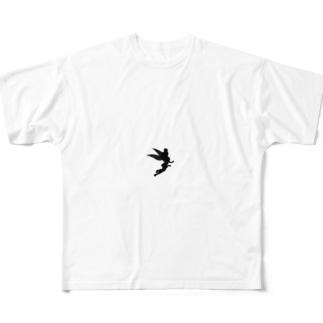 ティンカーベル Full graphic T-shirts