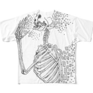 失う Full graphic T-shirts