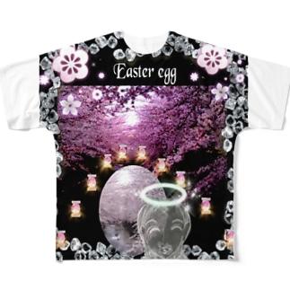 👑2021.4/4はEasterイースター (復活祭)です Full graphic T-shirts