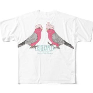モモイロちゃんず Full graphic T-shirts