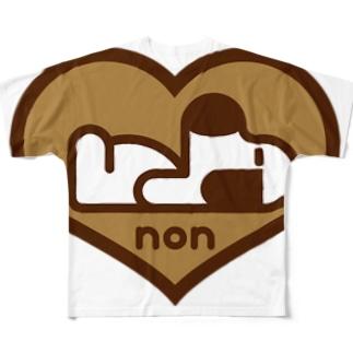 パ紋No.2884 non Full graphic T-shirts