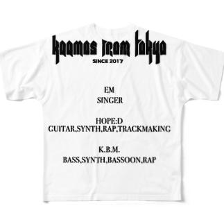 kaamos Credits Full graphic T-shirts