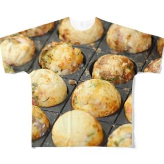 Takoyaki Full graphic T-shirts