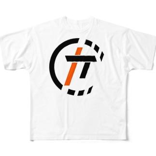 HIROKI ARTWORKS Full graphic T-shirts