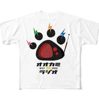 オオカミちゃんRADIOグッズ Full graphic T-shirts
