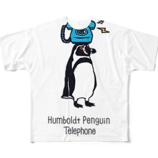 フンボルト・テレフォン Full graphic T-shirts