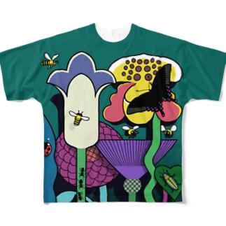 Flower garden Full Graphic T-Shirt