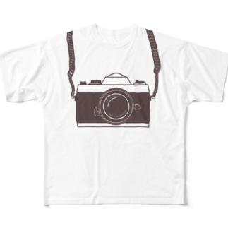 カメラ小僧 Full graphic T-shirts