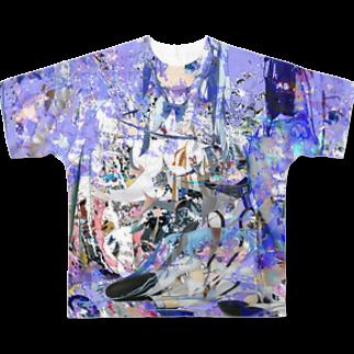 算数の哲学 青 Full graphic T-shirts