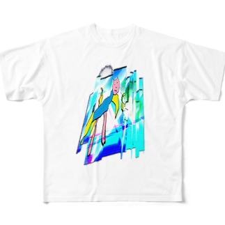 おしゃれな猫マン Full Graphic T-Shirt